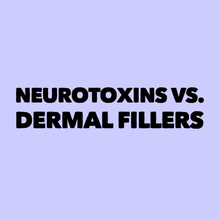 Read more about the article Neurotoxins vs. Dermal Fillers….What's the difference??